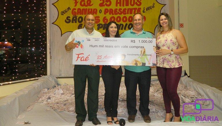 Supermercados Faé fazem a entrega de mais prêmios; conheça os novos sortudos