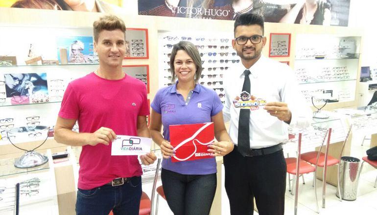 """0cc9acac726fc O supervisor Marcelo Rodrigues nos contou sobre a promoção que a Óticas  Diniz está oferecendo. """"Devido à procura imensa"""
