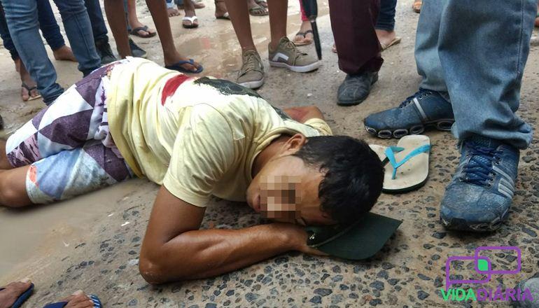 """Teixeira de Freitas: Criminosos atiram em """"Bebê"""" no bairro São Lourenço"""