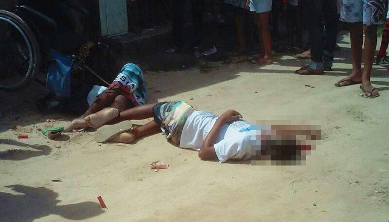 Duplo homicídio no Tancredo Neves: Cadeirante e sobrinho de 15 anos são assassinados