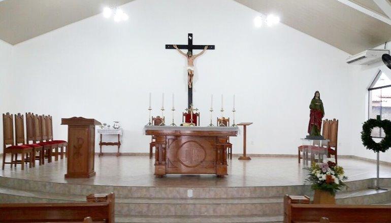 Iniciada festa da comunidade de Santa Luzia que terá 12 dias de celebrações