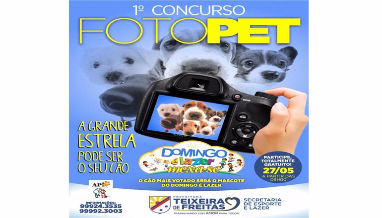 """Inscreva seu cão para o 1º Concurso FotoPet: o mais votado será o mascote do """"Domingo é Lazer"""""""