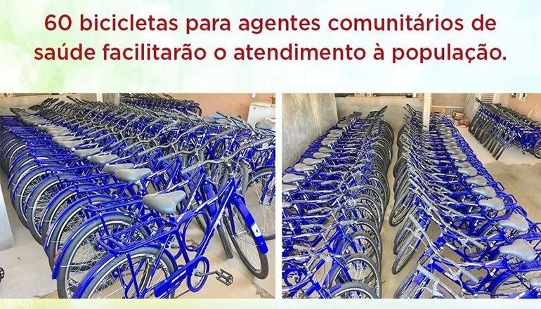 Agentes comunitários de saúde vão receber bicicletas pela primeira vez em Alcobaça
