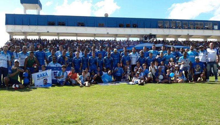 Seleção de Itamaraju comemora o tri no Intermunicipal