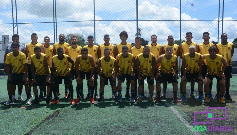 Focado na estreia do Campeonato Baiano da Série B, Portela se prepara intensamente para os jogos
