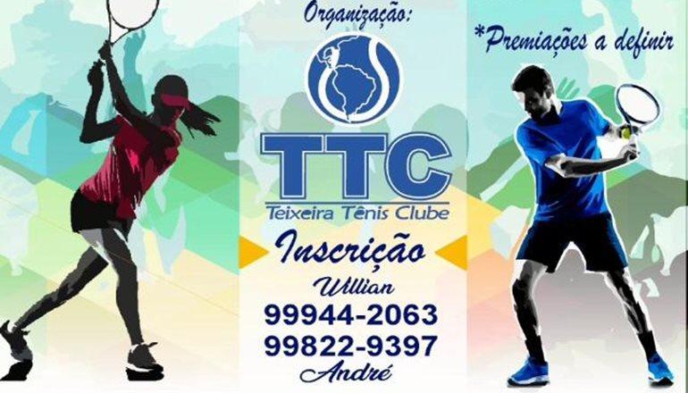 Referência e tradição: Vem aí a 12ª Teixeira Open de Tênis; faça já a sua inscrição!