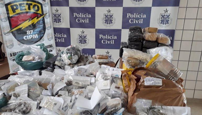 Polícia Civil promoveu incineração de drogas apreendidas desde janeiro em Teixeira de Freitas