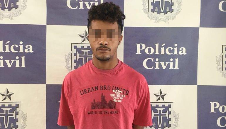 Polícia Civil cumpre mandado de prisão, indivíduo foi condenado por roubar notebook em 2015