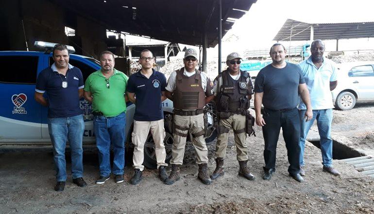 8ª COORPIN realiza a incineração de mais de 90 kg de drogas apreendidas nos últimos 03 meses em Teixeira