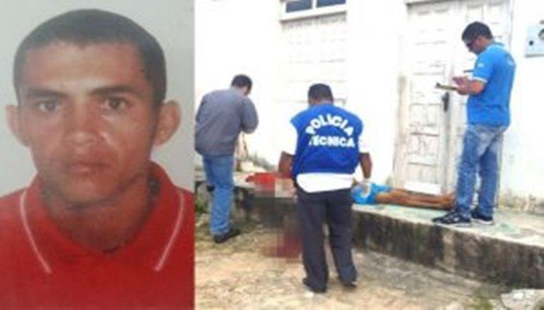 Mãe chora morte do filho executado na porta de casa no São Lourenço em Teixeira Freitas