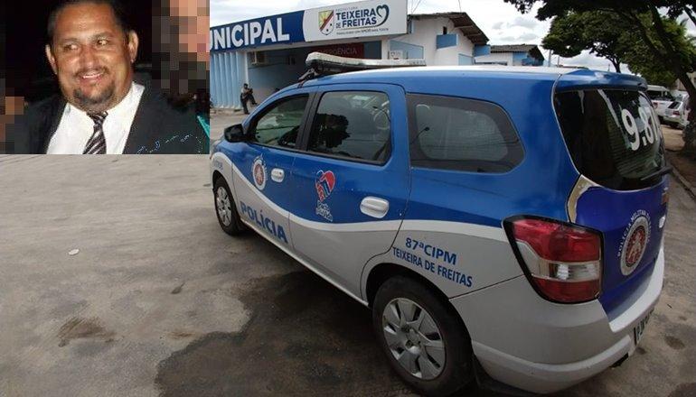 Empresário é assassinado nesta segunda feira no centro de Teixeira de Freitas