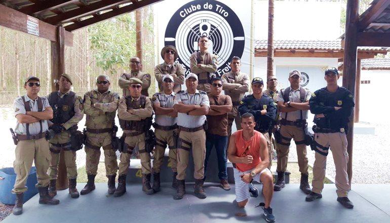 Pelotão da PRE  em Teixeira de Freitas promove competições esportivas entre policiais da região