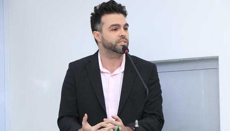 Jonathan Molar lança seu nome ao cargo de Presidente da Câmara Municipal; votação acontece nesta quarta-feira