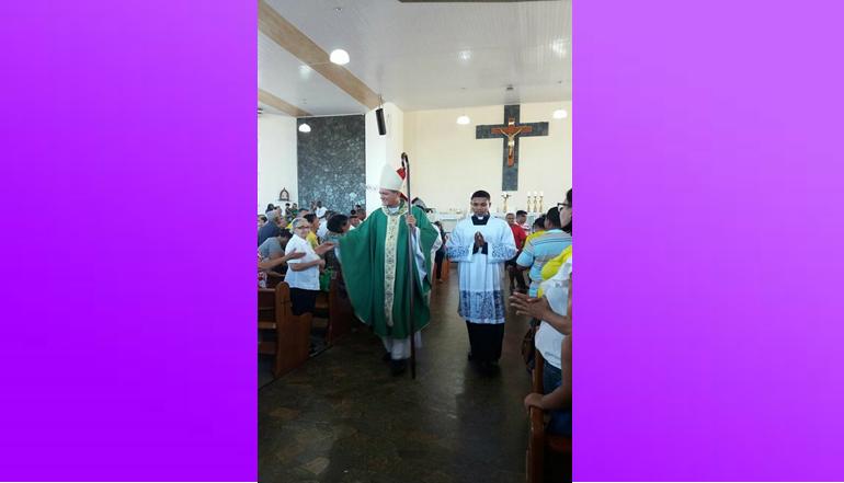 Encerramento do Rebanhão contou com milhares de fiéis e Missa presidida pelo Bispo Dom Jailton