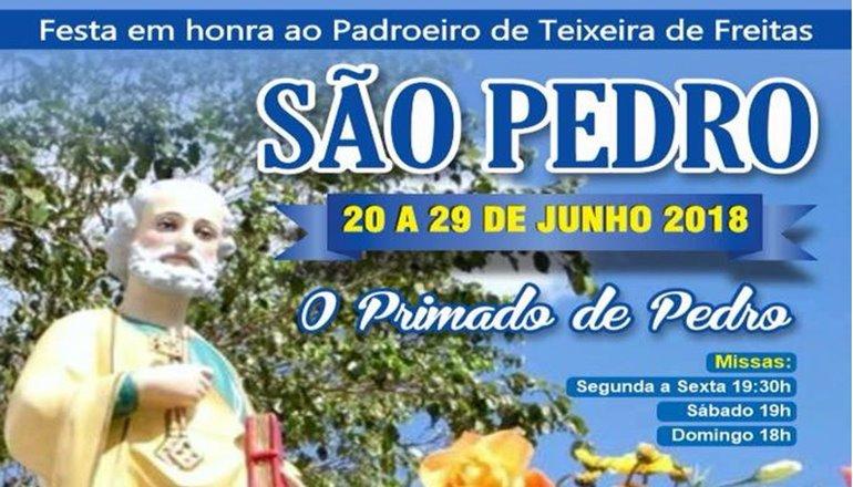 É festa na Catedral! O novenário começa nesta quarta (20) na São Pedro; venha prestigiar