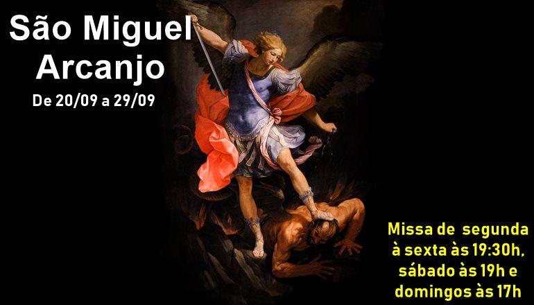 Inicia nesta quinta-feira o Novenário em honra a São Miguel Arcanjo; Participe!