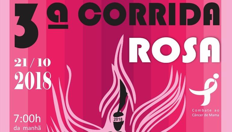 Vem aí a 3ª Corrida Rosa! Você não pode ficar de fora; as inscrições estarão disponíveis a partir do dia 20 de setembro