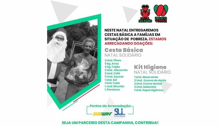 Projeto Amar promove o 5º Natal Solidário em Teixeira de Freitas; saiba como você pode colaborar!