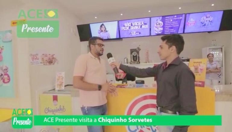 """Vídeo: """"ACE Presente"""" esteve na Chiquinho Sorvetes mostrando as novidades"""
