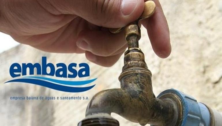 Embasa informa: Abastecimento de água será temporariamente interrompido em Teixeira de Freitas nesta sexta