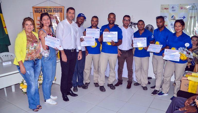 Kits entregues aos agentes de endemias reforçam o combate à dengue em Alcobaça