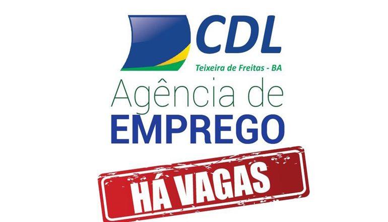 CDL divulga inúmeras vagas de emprego no comércio de Teixeira de Freitas
