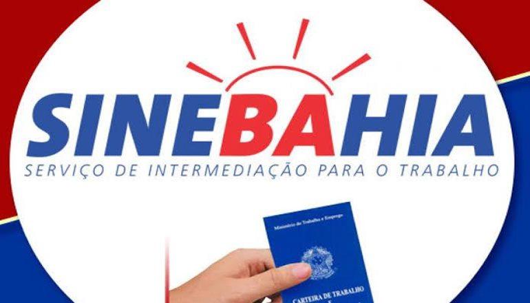 SINEBAHIA disponibiliza novas vagas de emprego para Teixeira nesta terça (19)