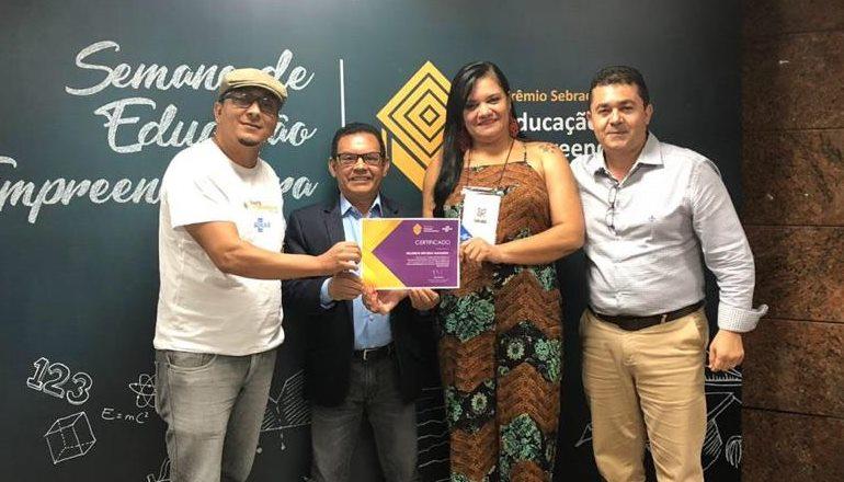 Escola do Extremo Sul fica entre as cinco finalistas do Prêmio de Educação Empreendedora