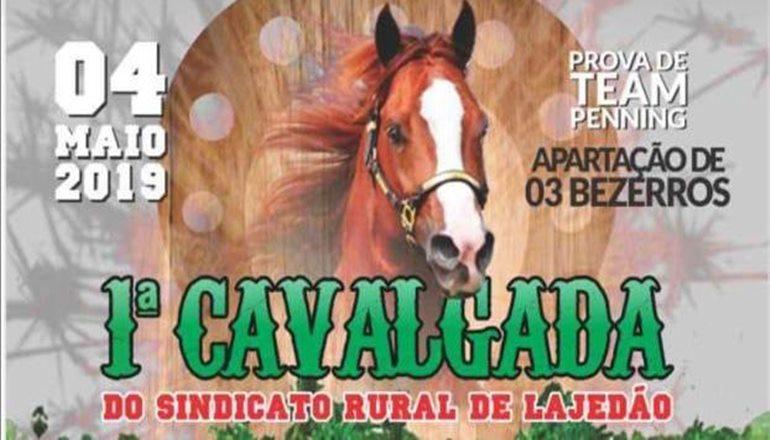 Vem aí a 1ª Cavalgada do Sindicato Rural de Lajedão; Pedro Joseph está confirmado