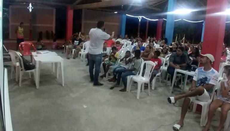 ONG Paspas e Prefeitura Municipal de Marechal Deodoro realizam assembleia de apresentação do Projeto Social PTS e PDST