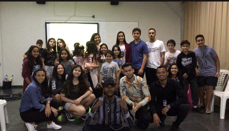 Musicarte realizou o 1º aulão para alunos das escolas atendidas pelo projeto