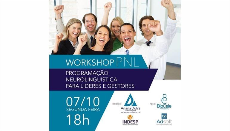 Em outubro, será realizado Workshop PNL em Teixeira de Freitas; quer mudar de vida? Participe!