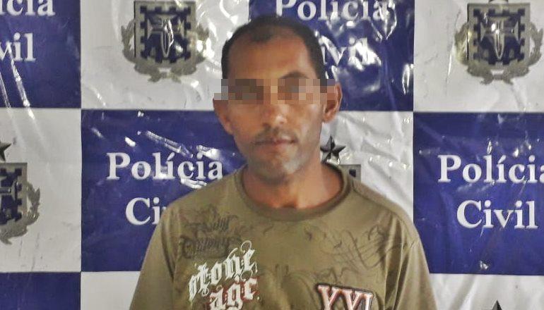 Justiça de Teixeira acata pedido da DEAM e Polícia Civil prende suspeito de estuprar a própria filha de 07 anos no bairro Castelinho