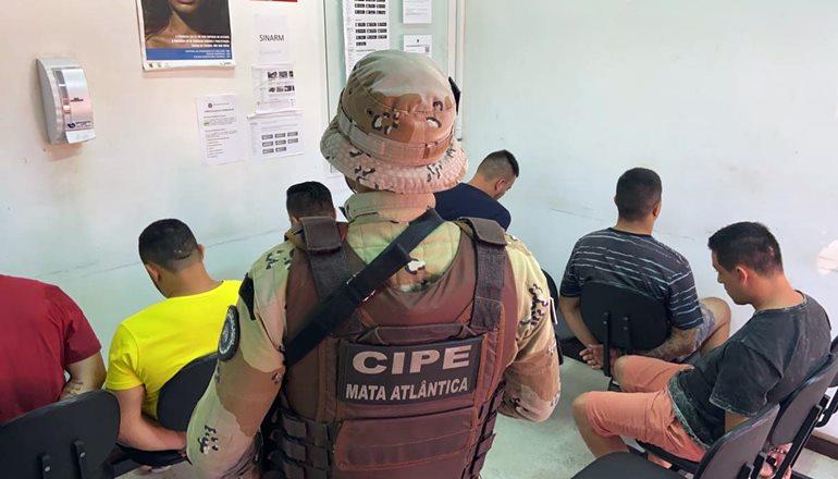 Ação conjunta das forças de segurança: Quadrilha que assaltou Banco do Brasil em Teixeira de Freitas foi presa no Aeroporto Internacional de Porto Seguro