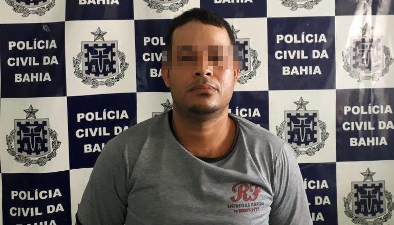 A Polícia Civil e DEAM, suspeito por prática de estupro a menores de idade é preso nesta segunda em Teixeira de Freitas