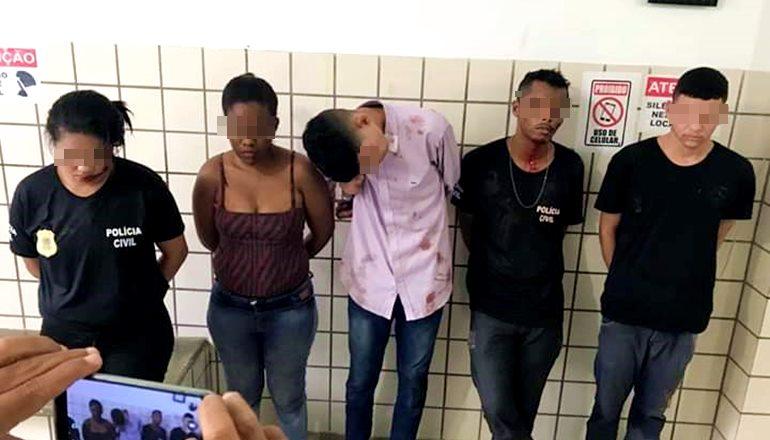 Vídeo: Sequestro, tiros, e quadrilha presa pela PM em Teixeira de Freitas