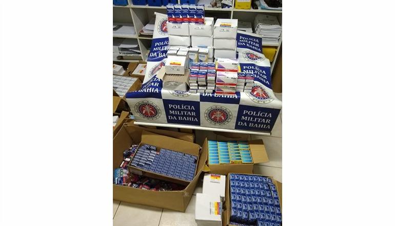 Polícia Militar apreende carga de medicamentos de procedência criminosa em Porto Seguro; 03 indivíduos foram presos