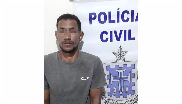 Homem é preso em flagrante por estupro a vulnerável e posse ilegal de arma na zona rural de Nova Viçosa