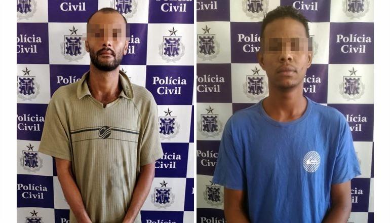 """Polícia Civil de Itamaraju elucida crimes e prende dois acusados pela """"onda de violência"""" na cidade; as investigações ainda continuam"""