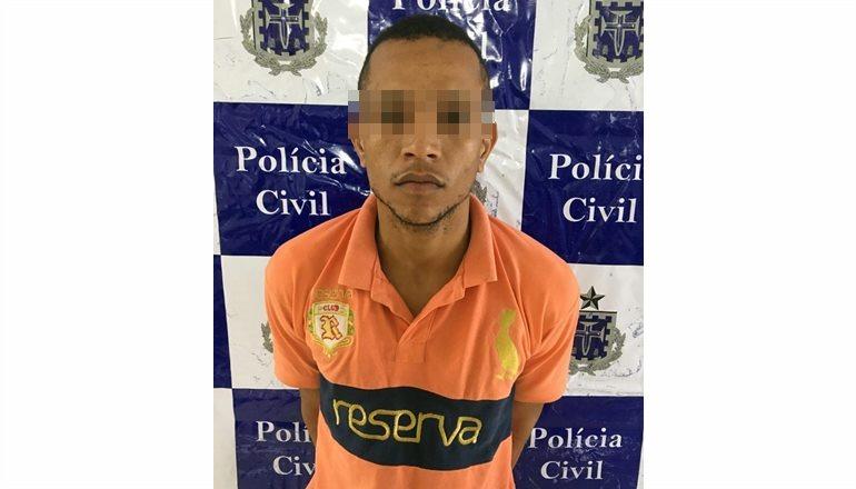 Polícia Civil prende homem acusado de homicídio e envolvimento com o tráfico de drogas em Teixeira de Freitas