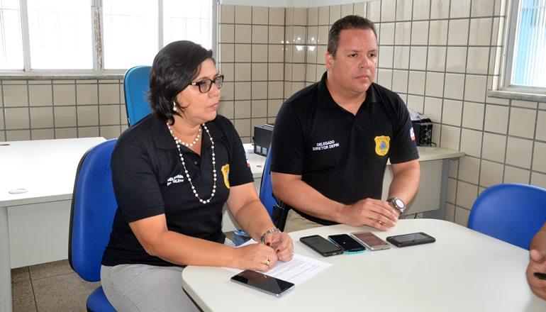 Coletiva de imprensa: Polícia Civil elucida homicídio de ambientalista em Nova Viçosa; os autores do crime já estão presos