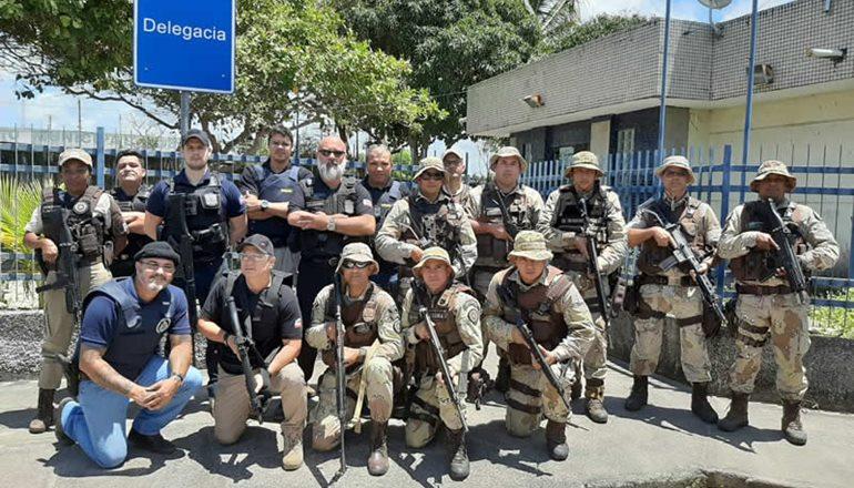 Polícias Civil e Militar recuperam na Rosinha do Prado equipamentos tomados em ação de roubo da empresa Rural & Cia