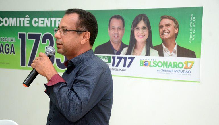 Vídeo: Gonzaga é nomeado presidente do PSL em Teixeira e promete fazer história nas eleições municipais de 2020; seja um filiado!