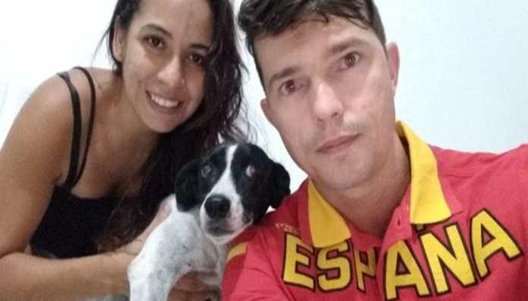 Teixeira: mototaxista encontra cão perdido e doa recompensa aos protetores