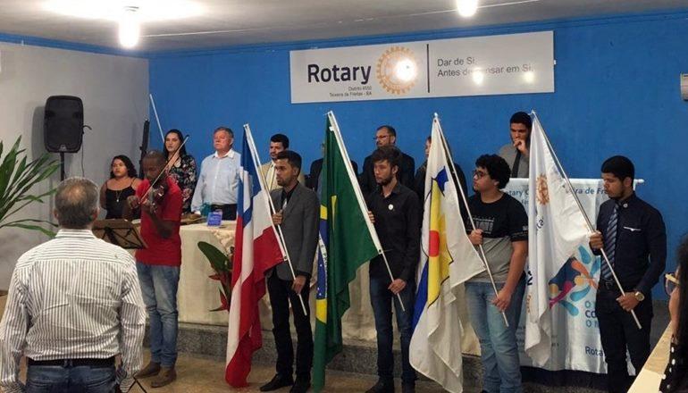 Rotary clube Teixeira de Freitas desenvolve ações durante crise da pandemia na nossa cidade