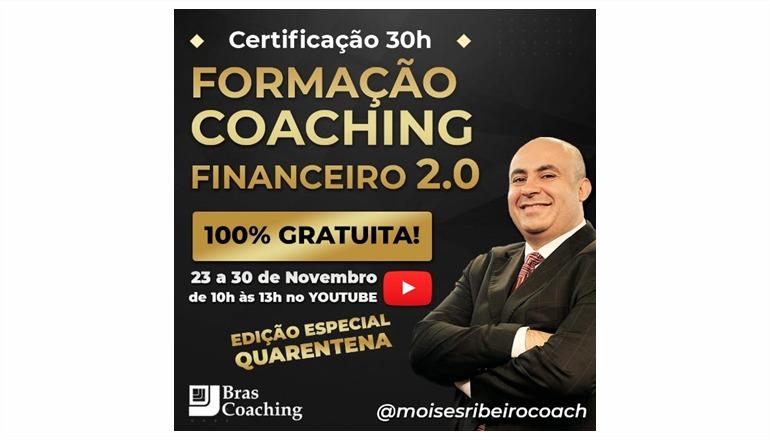 PRESENTE EXCLUSIVO para você: faça formação Coaching financeiro 100% gratuita/online