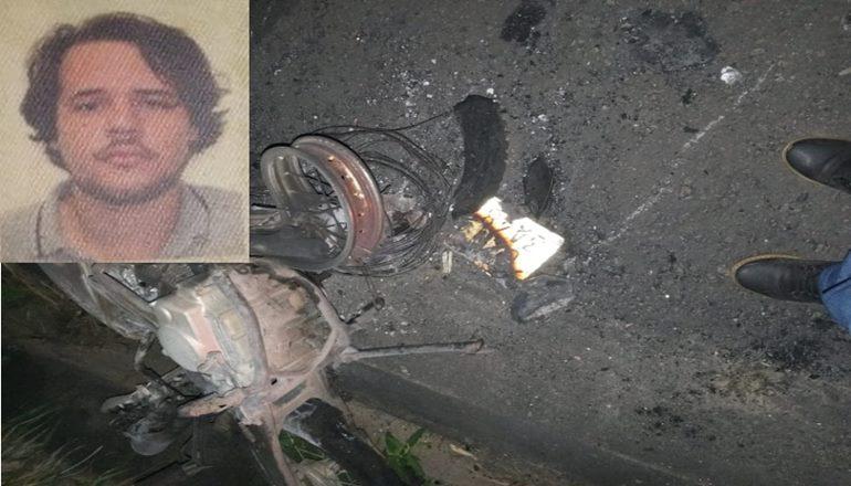 Motociclista morre em acidente na BR 101 próximo ao Posto Nova Era, em Teixeira de Freitas