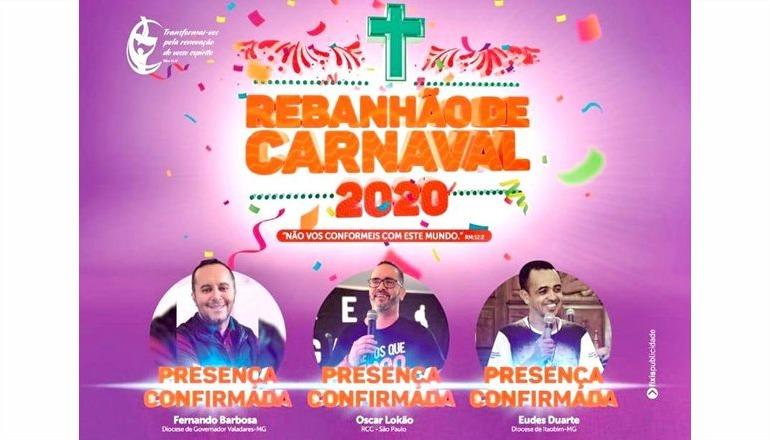 Vem aí o Rebanhão de Carnaval 2020; confira a programação