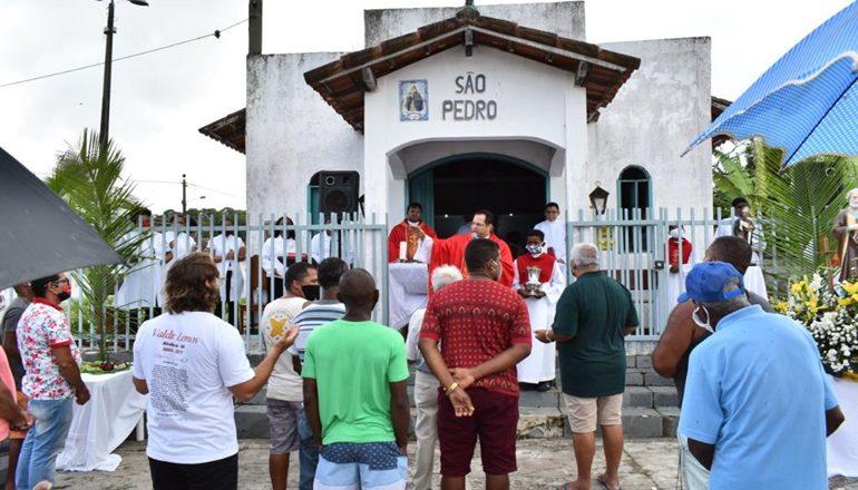 Alcobaça comemora festa dos pescadores com missa campal, procissão e carreata