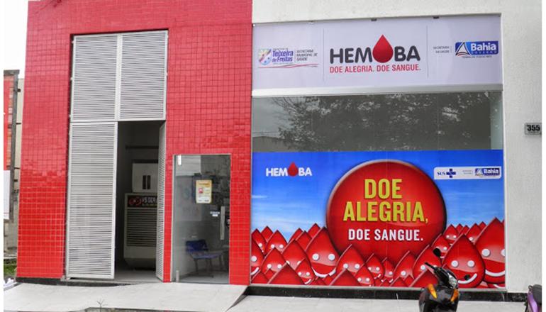 Estoque baixo: Hemoba de Teixeira de Freitas precisa de doação